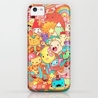 iPhone 5c Cases featuring Wackoblast! by Sillyrabs