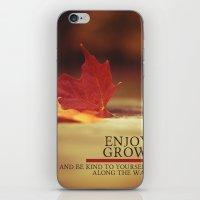 growth. iPhone & iPod Skin