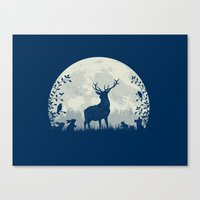 King Of The Forest Canvas Print