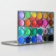 Paint Box Laptop & iPad Skin