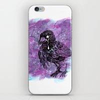 Crying Crow iPhone & iPod Skin