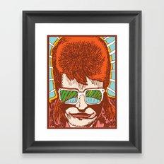 Rad Bowie Framed Art Print