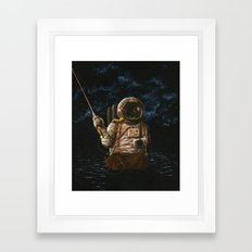Alone(And Loving It) Framed Art Print