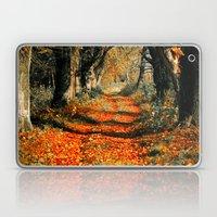 Autumn rust Laptop & iPad Skin