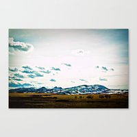 Go West Canvas Print