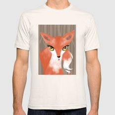 Fox Mens Fitted Tee Natural SMALL