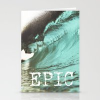 EPIC SURF  Stationery Cards
