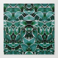 50 Shades of Green (8) Canvas Print
