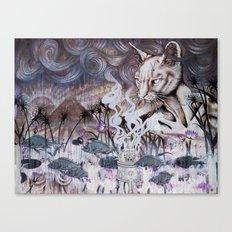 The Myth of Power Canvas Print