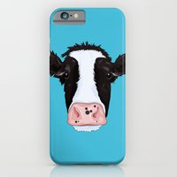 cow iPhone & iPod Cases featuring Cow by Compassion Collective