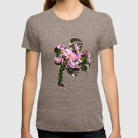 Sunspot Womens Fitted Tee Tri-Coffee SMALL