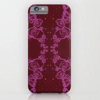 Pink Cluster iPhone 6 Slim Case