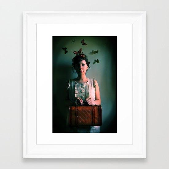 The Escape Artist Framed Art Print