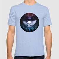 Leave A Scar Mens Fitted Tee Tri-Blue SMALL