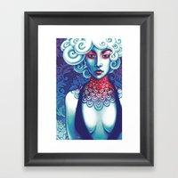 She Framed Art Print