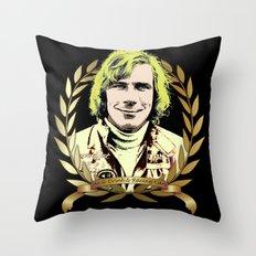 James Hunt Throw Pillow