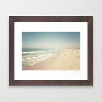 Hermosa Beach Framed Art Print