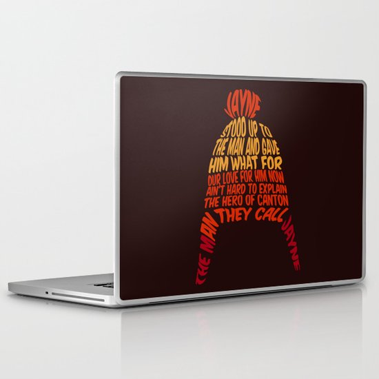 Jayne Hat Laptop & iPad Skin
