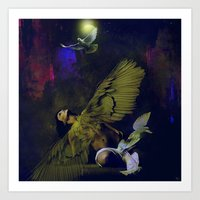The Revelation Of The An… Art Print