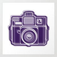 I Still Shoot Film Holga… Art Print