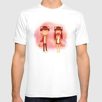 Tiger Hearts Mens Fitted Tee White SMALL