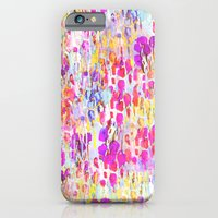 iPhone & iPod Case featuring Flower Fields  by Nikkistrange