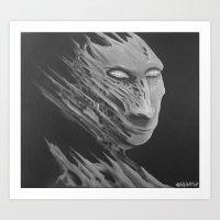 Mr Gray Art Print