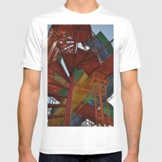 The Best Playground Ever White Mens Fitted Tee SMALL