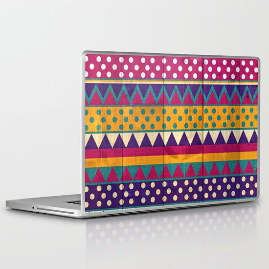 Mexican Pattern Laptop & iPad Skin