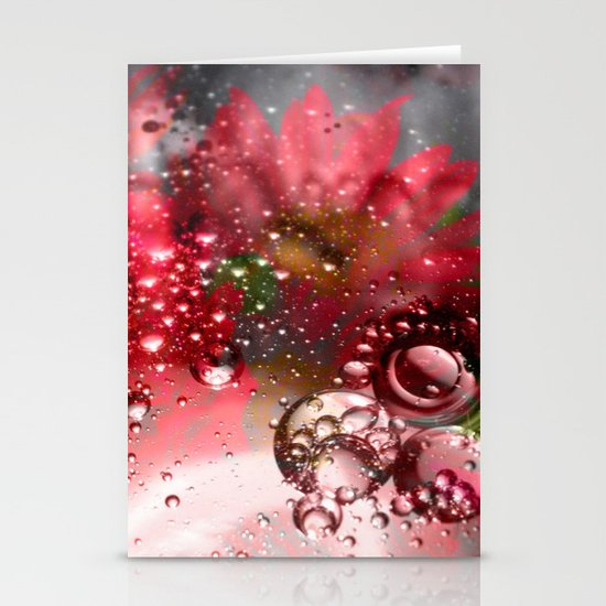 inflorescence beads Stationery Card