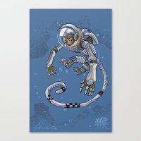 Astro Zodiac Force 09: Monkey Canvas Print