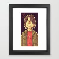 Eerie Indiana Framed Art Print