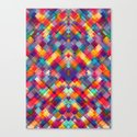 Squares Everywhere Canvas Print