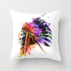 Harmony Apache Throw Pillow