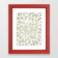 Petal Burst #3 Framed Art Print