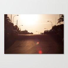 Alicante Sunset Canvas Print