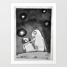 Omino Luna Art Print