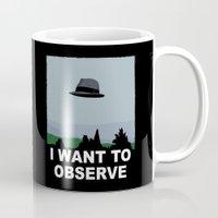 I Want to Observe Mug