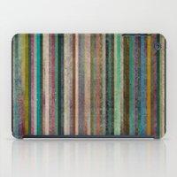 Striped iPad Case