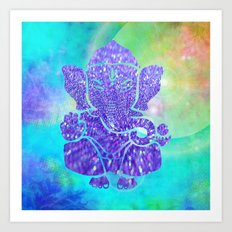 Ganesha II Art Print