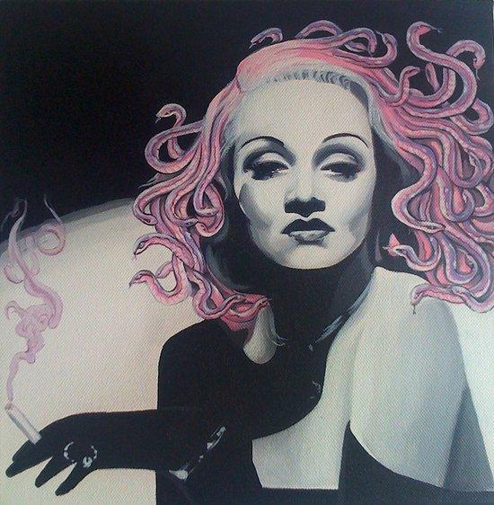 Medusa Marlene Art Print
