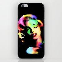 Marilyn Monroe Rainbow C… iPhone & iPod Skin