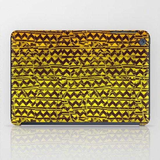 mosaic stripes iPad Case