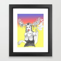 Rack City Framed Art Print