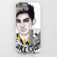 iPhone & iPod Case featuring WE ARE GLAMILY by ArtEleanor