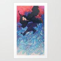 Iunii, One Of The Tricks… Art Print
