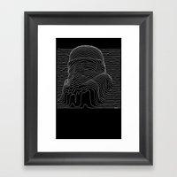 trooper division Framed Art Print