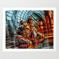 Bioshock Mr Bubble's Please Get Up Art Print