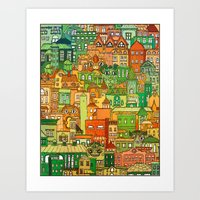 Housing District Art Print