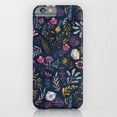 Floral Slim Case iPhone 6s